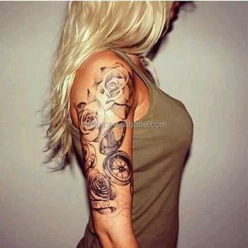 Temporary Tattoos Large Arm Fake,3d Arm Big Temporary Tattoo Sticker ...