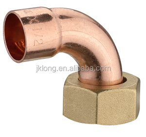 hydraulic copper fitting, tube fittings used as female adapter in plumbing and gas pipeline