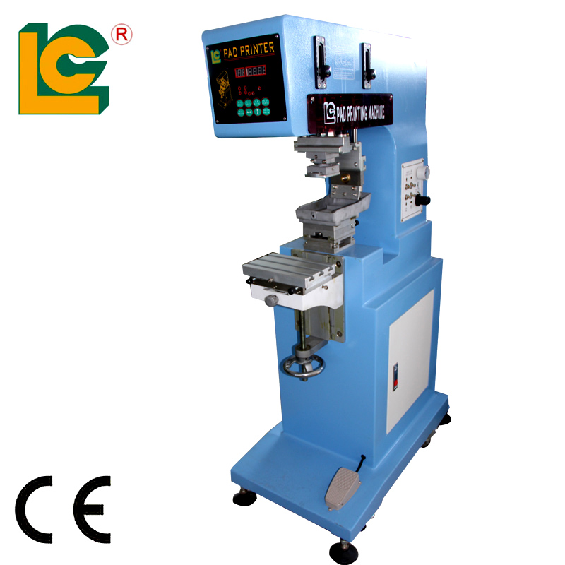LC-PM1-200GNT Machine manufacturers tennis ball baseball pad printing machine for ball printing