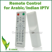 Free Shipping Post Potable Remote Control for Arabic /Indian IPTV Box,Remote Control for Set Top Box with Arabic/Indian Channels