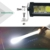 Uno row side emitting 20 inch 180w 4x4 off road led light bar with drl