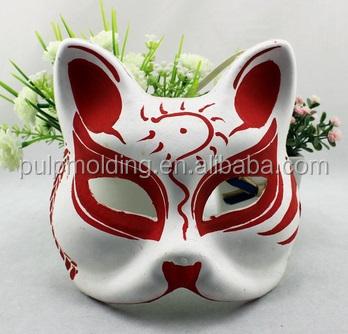 Beyaz Masquerade Maske Kedi Venedik Cosplay Kostüm Partisi Diy Kadın