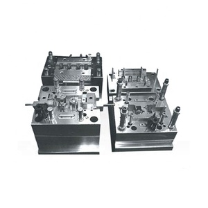 ISO Qualified Double Color Plastic Injection Molding Design and manufacturer