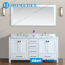 chinese white classical bathroom vanity cabinet