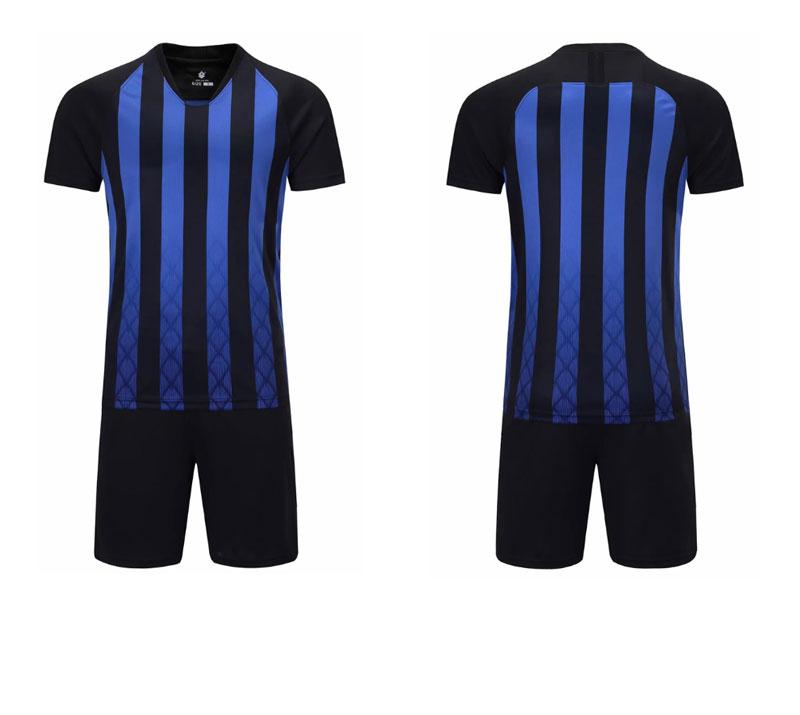 a1dce45372e 2019 cheap wholesale sublimation blanks custom soccer sports jersey new  model uniform kit camisas de futebol set