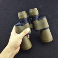 High quality HD vision 7 50 Optical Military binoculars High power telescope for hunting telescope outdoor
