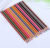 dual tip two colors 2 sides wood colored pencil, 12pcs 24 color pencil
