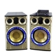 Private Mode 2.0 Sound Channel System Big Power Family Party Stage Karaoke Speaker with disco light