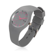 Women Silicone Band Sport Watch Fashion Brand MILER Colorful Quartz Bracelets Watches Relogio Feminino
