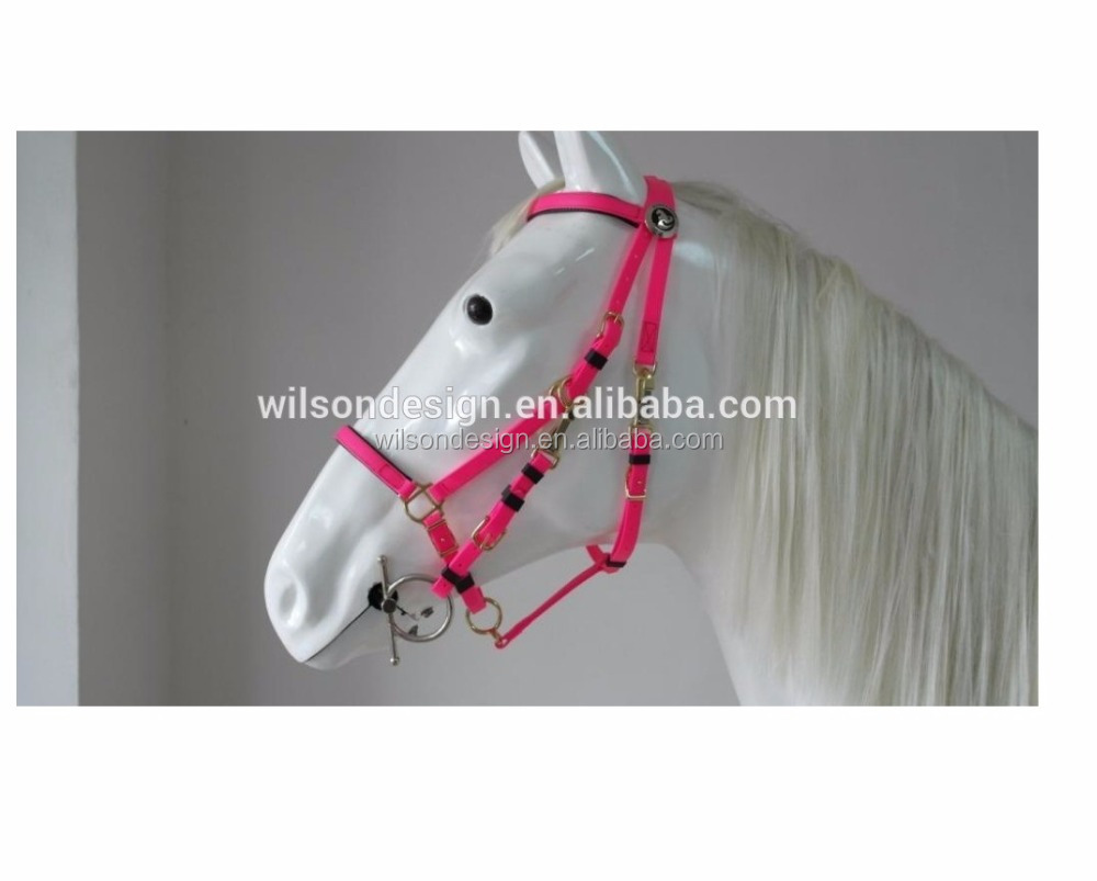 outdoor sports custom color horse racing leather horse bridle rein