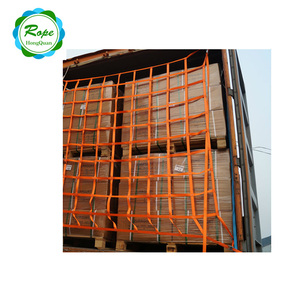 heavy duty versatile Polyester Webbing container cargo safety net for transport