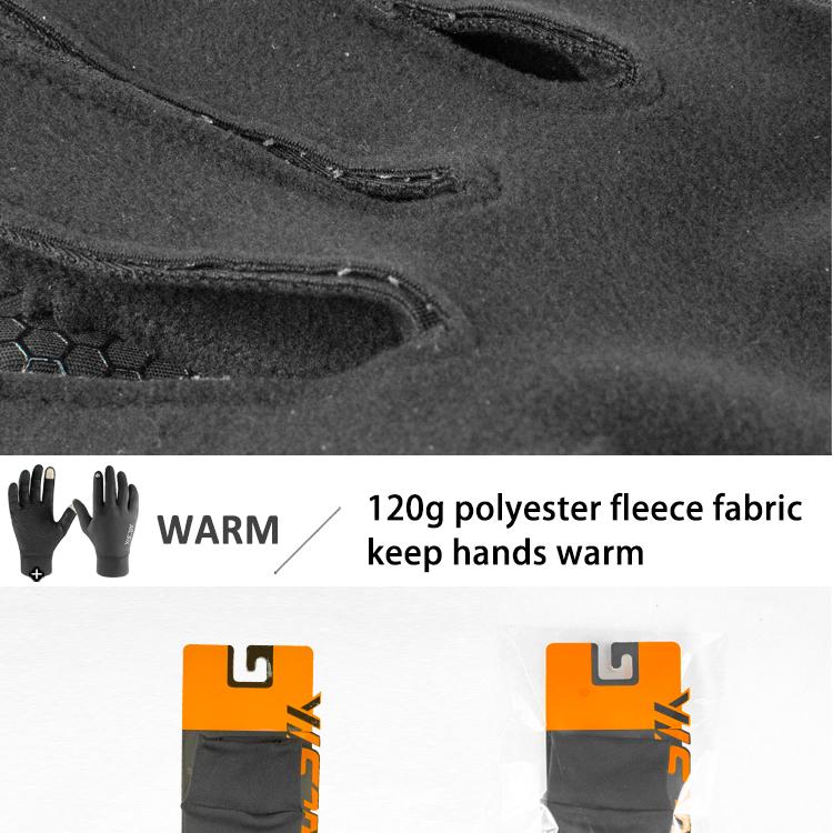 الطقس البارد السيدات الرجال تشغيل القفازات الرياضية بالجملة الحرارية لمس تشغيل قفازات المشي مصنع