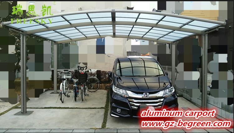 en aluminium m tallique pr fabriqu e deux voitures garage carport couvert pour voiture emballage. Black Bedroom Furniture Sets. Home Design Ideas