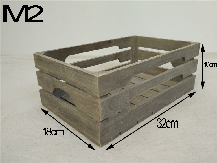Cheap wooden fruit crates for sale buy cheap wooden for Where do i find wooden crates