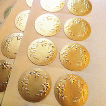 Metalen Goud Embossing <span class=keywords><strong>Sticker</strong></span>, Goudfolie Reliëf Label <span class=keywords><strong>Sticker</strong></span>