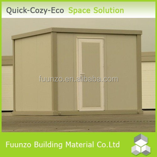 Good Insulated Fireproof Portable Prefabricated Industrial Shed