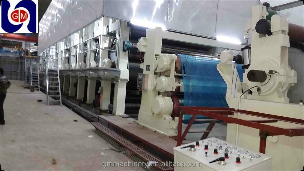 3200mm hot sale craft paper making machine/ waste recycling machine/equipment for kraft paper production