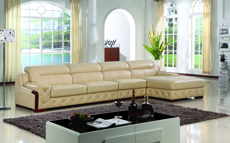 Full Grain Leather Sectional Sofa, Full Grain Leather Sectional