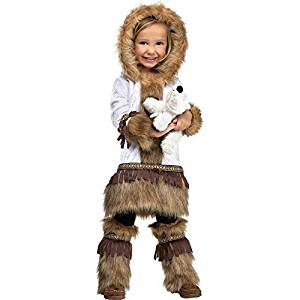 Fun World Costumes Baby Girl's Eskimo Toddler Costume by Fun World Costumes