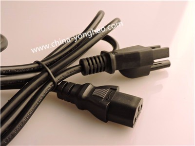 AC Power Cord with Plug 2 pin 3 pin for /us/eu/uk/ all standard Ac power plug approved UL/ROHS/ manufacture made for all market