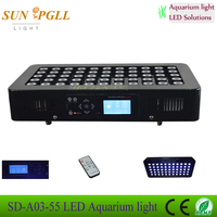 dimmable intelligent remote controller system 16inch 24inch 32inch for marine fish tank coral reef nano led aquarium light