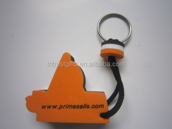 High Quality Floating Boat Keychains