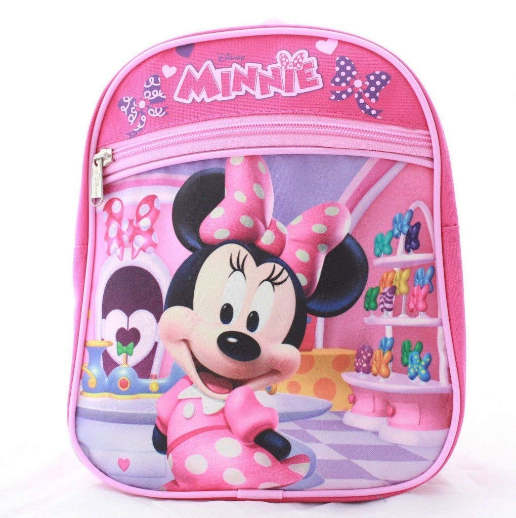 Get Quotations · Minnie Mouse Girls Kids Toddler Preschool Mini Backpack  Baby 10