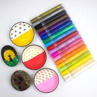 28 Colours Acrylic Pen Set Good Quality Non-toxic Acrylic Nib Permanent Pen Acrylic Paint Marker DIY Painter Marker
