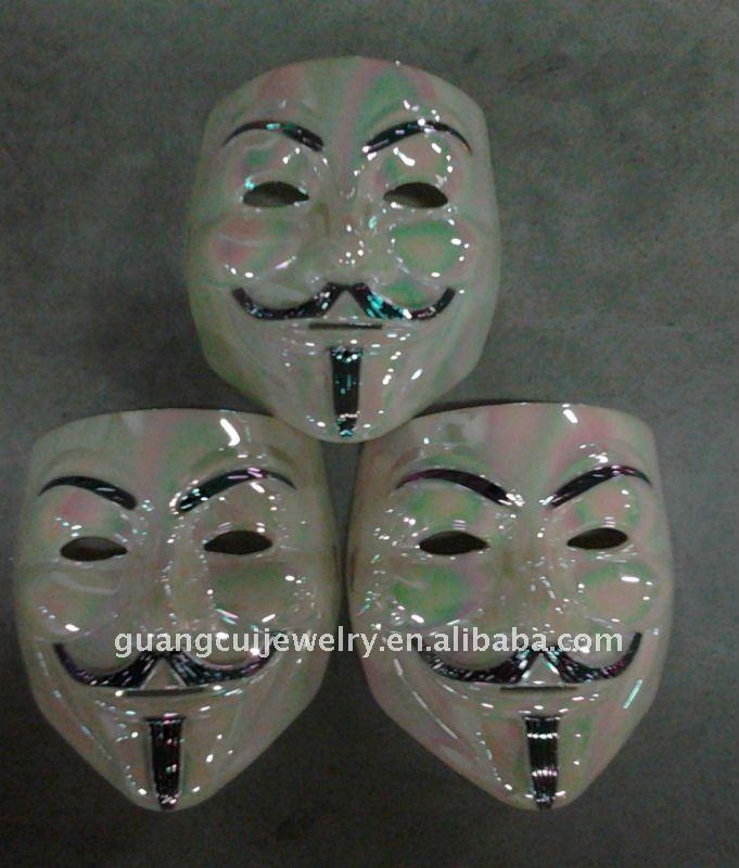 Fashion V For Vendetta Mask Colorful Mask Design Colorful Face