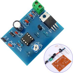 5-12V DIY Kits 555 Pulse Width Modulation Speed Regulator Controller Suite  Electronic Production Skills Training Parts