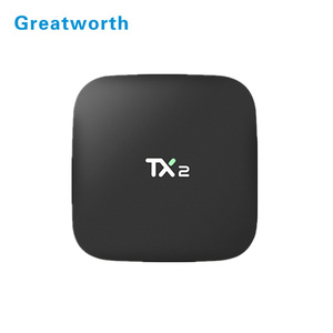 2017 TX2 RK3229 2G 16G tiger digital satellite receiver mini pc for  wholesales ott 6 0tv box
