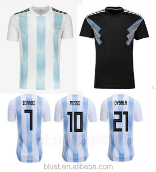1cdd7d917 Top Thailand Quality 2018 World Cup Argentina Soccer Jersey - Buy ...