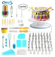 2019 Amazon hot sale stainless steel Cake baking Decorating Supplies