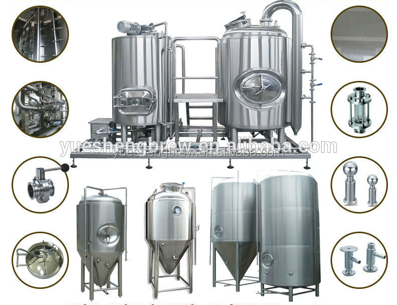 1000 Liter Beer Brewing Manufacturing Plant Mash Tun Kettle Brewery Kit For  Sale - Buy 1000 Liter Mash Tun Kettle,1000 Liter Brewing Kit,Beer