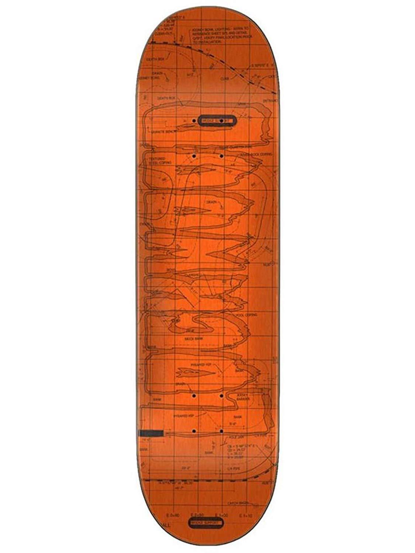 1d4cf7caf49 Get Quotations · Creature Orange Lockwood Plans - 8.5 Inch Skateboard Deck  (Default