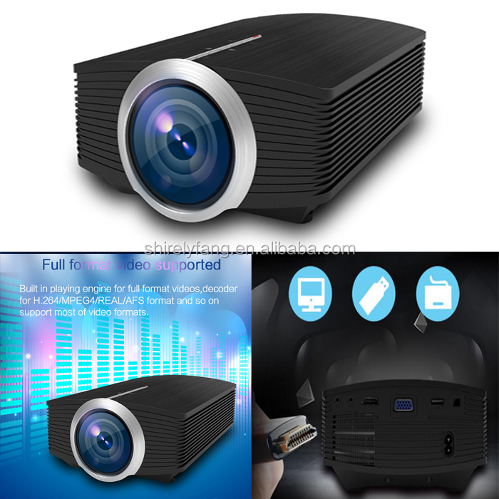 YG510 Portable Smartphone Projector for iPhone Android Tablet