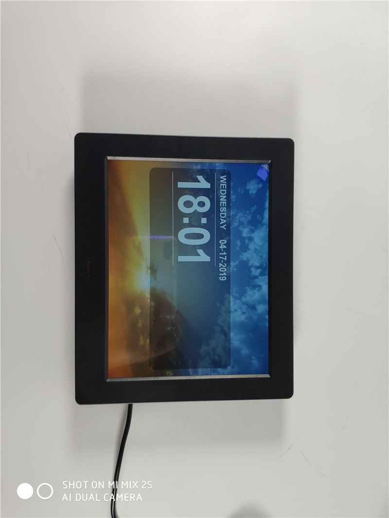 7.85 inch Weather forecast Digital Picture Frame with Clock machine