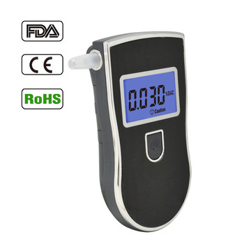 OEM Patent Alcohol Breath Checker With Mouthpieces, FDA Approve Alcometer,Drive safety Digital Alcohol Tester For Promotion