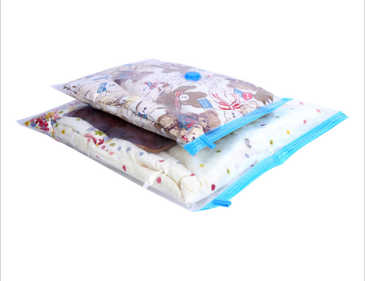 eco friendly vacuum storage bag for clothing and quilt