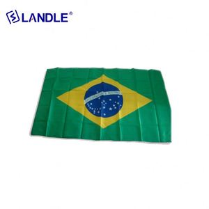 Great quality colorful football fan country flag horn