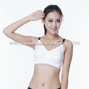 8039a3fe48 Fashion seamless stylish yoga sports girl brand sexy girl bra