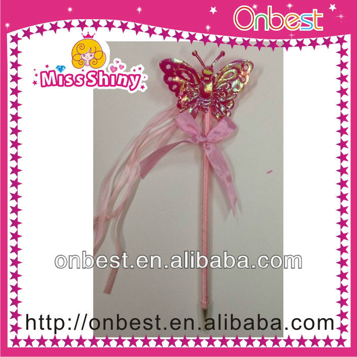 birthday party supplies Butterfly fairy wand