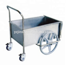 Hospital Furniture Stainless Steel Economic Dressing Trolley