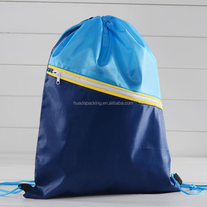 small nylon mesh drawstring bag