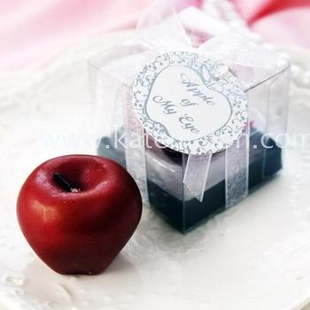 Apple Shaped CandleWedding Favor Candle Buy Red Apple Shaped