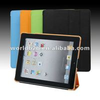 Smart Cover Leather hard Case for New iPad /iPad 3