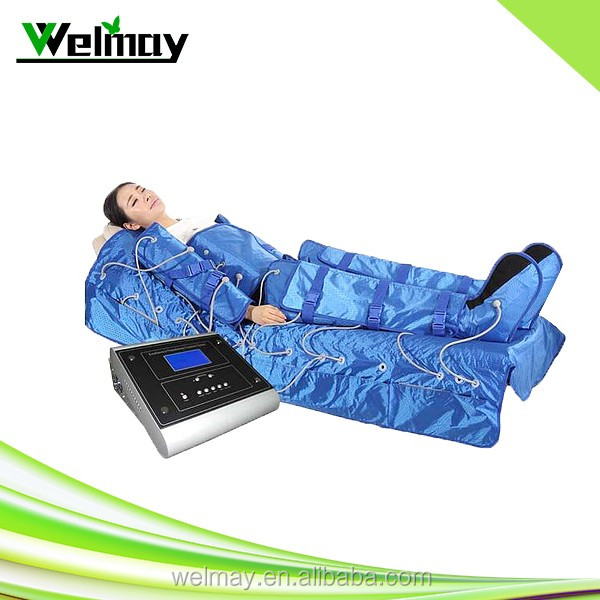 2017 professional air pressure body slimming suit air pressure therapy detox slimming system