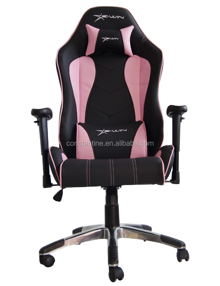 Pink Leather Office Chair, Pink Leather Office Chair Suppliers And  Manufacturers At Alibaba.com