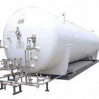 large vertical Liquid carbon dioxide pressure vessel Chemical Storage Equipment