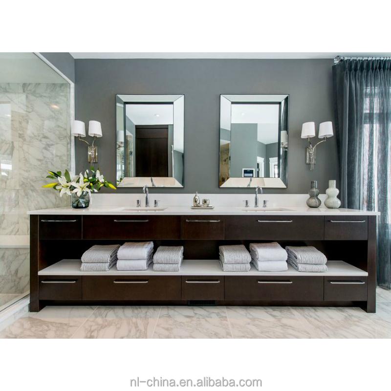 עיצוב פופולרי עם לבן ברז אמבטיה יהירות אמבטיה
